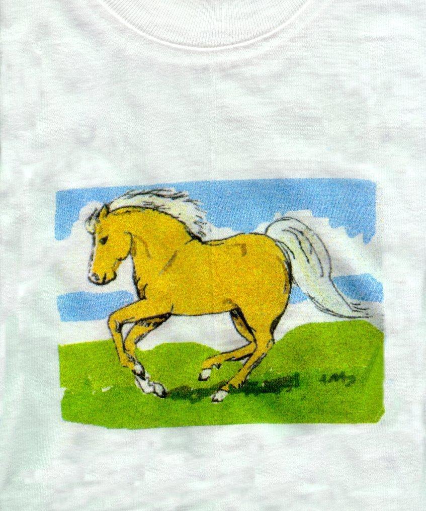 pony, horse,equine, equestrian, T-shirt