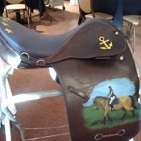 painted saddle