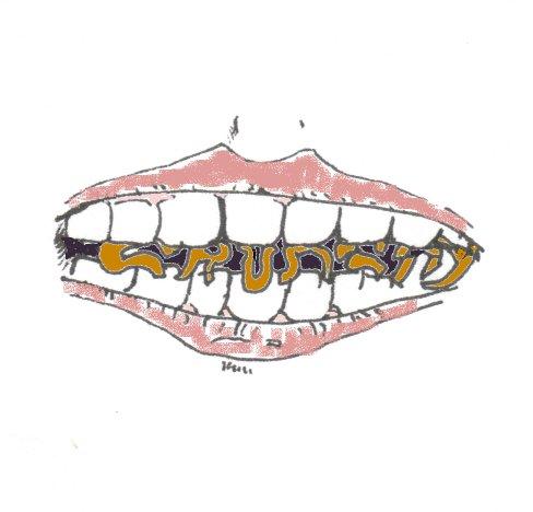 teeth, crunchy