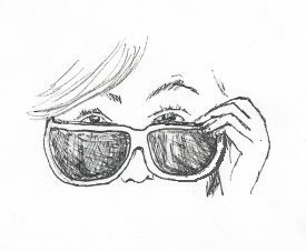 illustrationfriday word of week-Shades