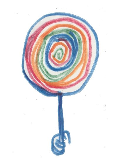 spiral, lollipop