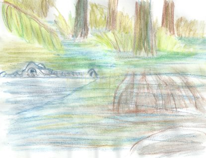 illustrationfriday word of week- swamp