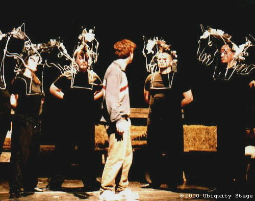 EQUUS play, horse masks
