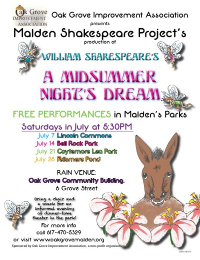 Malden Shakespear Project